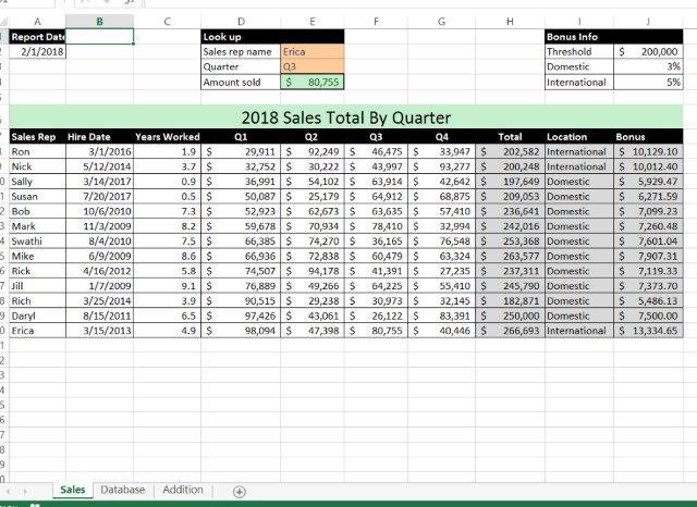 office 2016 myitlab ms excel ex16 xl ch07 grader cap as sales data 1 1