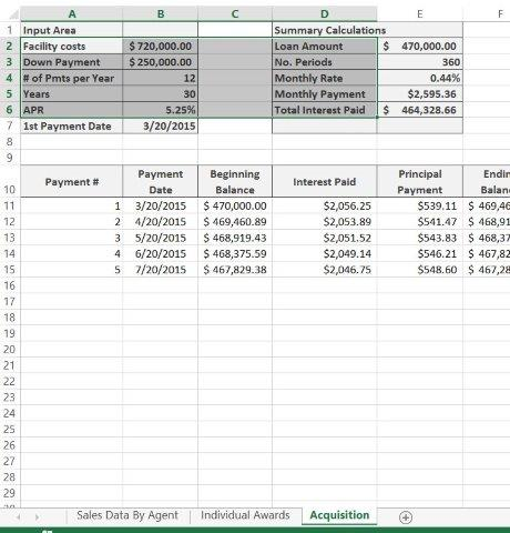 Office 2013 Myitlab Ms-Excel Chapter 7 Assessment Project 1